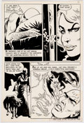 Warren Sattler Yang #8 Panel Page Original Art (Charlton, 1975) Comic Art