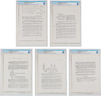 University of Cincinnati: Research Paper Regarding the Soviet Soyuz Life Support System (Five Pages) with a Handwritten...