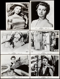 """Woman of the River (Columbia, 1957). Photos (12) (8"""" X 10"""" & 8"""" X 9.25""""). Foreign. ... (Total: 1..."""
