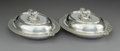 Silver & Vertu:Hollowware, A Pair of Tiffany & Co. Silver Covered Vegetable Dishes, New York, 1892-1902. Marks: TIFFANY & CO, 34762 MAKERS 3558, STER... (Total: 2 Items)