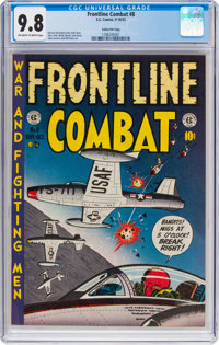 Frontline Combat #8 Gaines File Pedigree 6/9 (EC, 1952) CGC NM/MT 9.8 Off-white to white pages