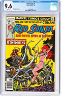 Bronze Age (1970-1979):Adventure, Red Sonja #7 (Marvel, 1978) CGC NM+ 9.6 White pages....