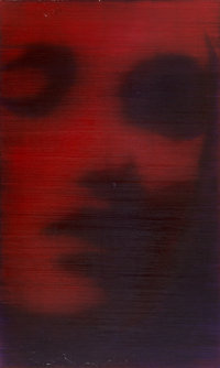 Alison Van Pelt (b. 1963) Red Face, 1999 Oil on canvas 60-1/4 x 36 inches (153.0 x 91.4 cm) Si