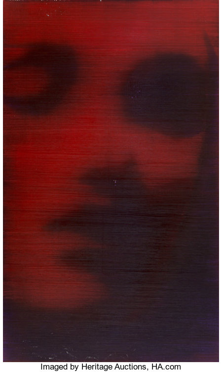 Alison Van Pelt (b. 1963) Red Face, 1999 Oil on canvas 60-1/4 x 36 inches (153.0 x 91.4 cm) Signed and dated on the ...