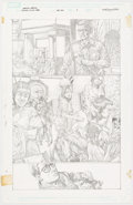 Mico Suayan Immortal Weapons #1 Story Page 1 Original Art (Marvel, 2009) Comic Art