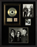 "Music Memorabilia:Awards, Beatles - John Lennon Billboard Award for ""Whatever Gets You Thru the Night"" and Walls and Bridges (19..."