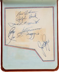 Baseball Collectibles:Others, Late 1940's Multi-Signed Autograph Book....