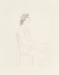 Fine Art - Work on Paper:Print, David Hockney (b. 1937). Maurice Payne, 1971. Etching onwove paper. 26-7/8 x 21-3/8 inches (68.3 x 54.3 cm) (image). 35...
