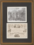 Miscellaneous, Washington National Monument Society Membership Certificate....