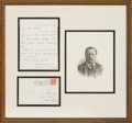 Autographs:U.S. Presidents, Theodore Roosevelt Autograph Letter Signed ...
