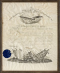 Autographs:U.S. Presidents, Grover Cleveland Military Appointment Signed ...