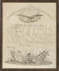 Autographs:U.S. Presidents, Millard Fillmore Military Appointment Signed ...