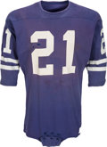 Football Collectibles:Uniforms, 1960s Ed Meador Game Worn Los Angeles Rams Jersey....