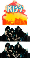 Music Memorabilia:Memorabilia, KISS Hotter Than Hell Promotional Mobile (Casablanca,1974)....
