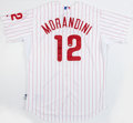 Autographs:Jerseys, Mickey Morandini Signed Philadelphia Phillies Home Jersey From 2013Alumni Weekend. ...