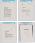 Explorers:Space Exploration, Neil Armstrong: Copies of Correspondence Between Neil Armstrong and Don Dwiggins Author of The Eagle Has Landed: The Sto... (Total: 4 Items)