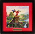 """Miscellaneous Collectibles:General, Thomas Kinkade """"Mickey Mouse"""" Framed Print...."""