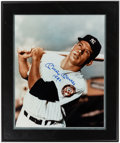 """Autographs:Photos, Mickey Mantle """"1952"""" Signed, Framed Oversized Photograph...."""