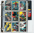 Memorabilia:Trading Cards, Batman and Other Vintage Non-Sports Trading Cards/StickersGroup (Various Publishers, 1960s)....