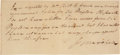 Autographs:Statesmen, John Marshall Partial Autograph Document Signed...