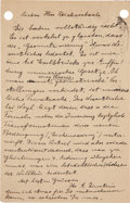Autographs:Inventors, Albert Einstein Autograph Letter Signed ...
