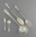 Silver Flatware, American:Other , Twenty-Seven American Silver Flatware Pieces, 19th-early 20thcentury. Marks: (various). 13-1/2 inches (34.3 cm) (longes...(Total: 27 )