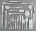 Silver Flatware, British:Flatware, A One Hundred Sixty-Five-Piece Goldsmiths & Silversmiths Co. Ltd. Silver-Plated Flatware Service in Fitted Canteen, Birmingh... (Total: 165 Items)