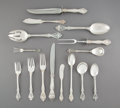 Silver & Vertu:Flatware, A One Hundred and Two-Piece Gorham Mfg. Co. King Edward Pattern Silver Flatware Service, Providence, Rhode Islan... (Total: 100 Items)