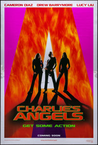 """Charlie's Angels & Other Lot (Columbia, 2000). Rolled, Very Fine+. Mylar One Sheet & One Sheets (2) (26.75""""..."""