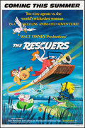 "Movie Posters:Animation, The Rescuers & Other Lot (Buena Vista, 1977). One Sheets (2) (27"" X 41"") Advance. Animation.. ... (Total: 2 Items)"