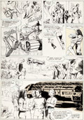 Original Comic Art:Panel Pages, Carl Potts, Doug Beekman, and Neal Adams Spa...