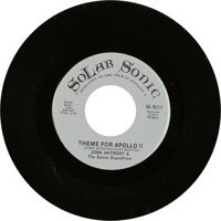 """Neil Armstrong Vinyl Collection: """"Theme For Apollo 11 / Tel-Star"""" 45 RPM Record by John Anthony & The Satu..."""