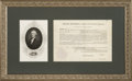 Autographs:U.S. Presidents, Thomas Jefferson Appointment Signed ...