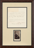 Autographs:U.S. Presidents, Andrew Johnson Document Signed ...