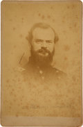 Autographs:Military Figures, William T. Sherman Inscription and Signature on a James McPherson Cabinet Card....
