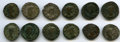 Ancients:Ancient Lots  , Ancients: ANCIENT LOTS. Roman Imperial. Lot of twelve (12) BI andAE antoniniani. Fine.... (Total: 12 coins)
