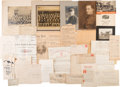 Autographs:Military Figures, [Spanish American War]. Walter Moore Archive....