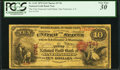 San Francisco, CA - $10 1870 Fr. 1142 The First National Gold Bank Ch. # 1741 PCGS Very Fine 30