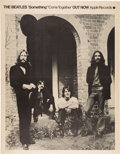 """Music Memorabilia:Posters, Beatles """"Something""""/""""Come Together"""" Apple Records Promo Poster(1969)...."""