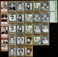 Autographs:Sports Cards, Signed 1974-1988 Football Hall of Famers Collection (30). ...