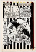 Al Camy and Others Air Fighters Classics #3 Complete Book Production Materials ( Comic Art
