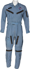 Explorers:Space Exploration, Gemini: Neil Armstrong's Owned and Worn Early Flight Suit DirectlyFrom The Armstrong Family Collection™, Certified by...
