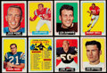 Football Cards:Sets, 1964 Topps Football Complete Set (176)....