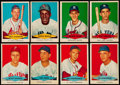 Baseball Cards:Lots, 1954 Red Heart Baseball Collection (25). ...