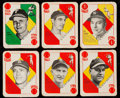 Baseball Cards:Sets, 1951 Topps Blue Backs Baseball Complete Set (52). ...
