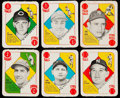 Baseball Cards:Sets, 1951 Topps Baseball Red Backs Complete Set (52). ...