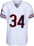 Football Collectibles:Uniforms, 1990's Walter Payton Signed Chicago Bears Jersey with Six Inscriptions. ...