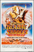 """Movie Posters:Comedy, Blazing Saddles (Warner Brothers, 1974). One Sheet (27"""" X 41"""") John Alvin Artwork. Comedy.. ..."""