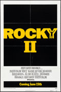 "Movie Posters:Sports, Rocky II (United Artists, 1979). One Sheet (27"" X 41"") Advance. Sports.. ..."
