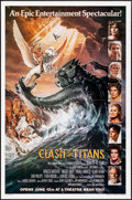 """Movie Posters:Fantasy, Clash of the Titans (MGM, 1981). One Sheet (27"""" X 41"""") Advance Style B. Dan Gouzee Artwork. Fantasy.. ..."""